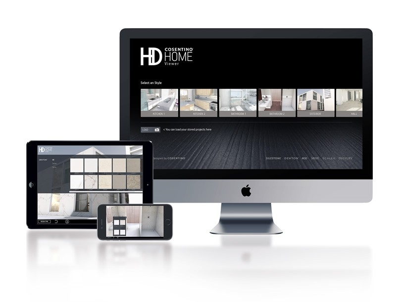 """Cosentino 3D Home"" y ""Cosentino HD Home Viewer"""