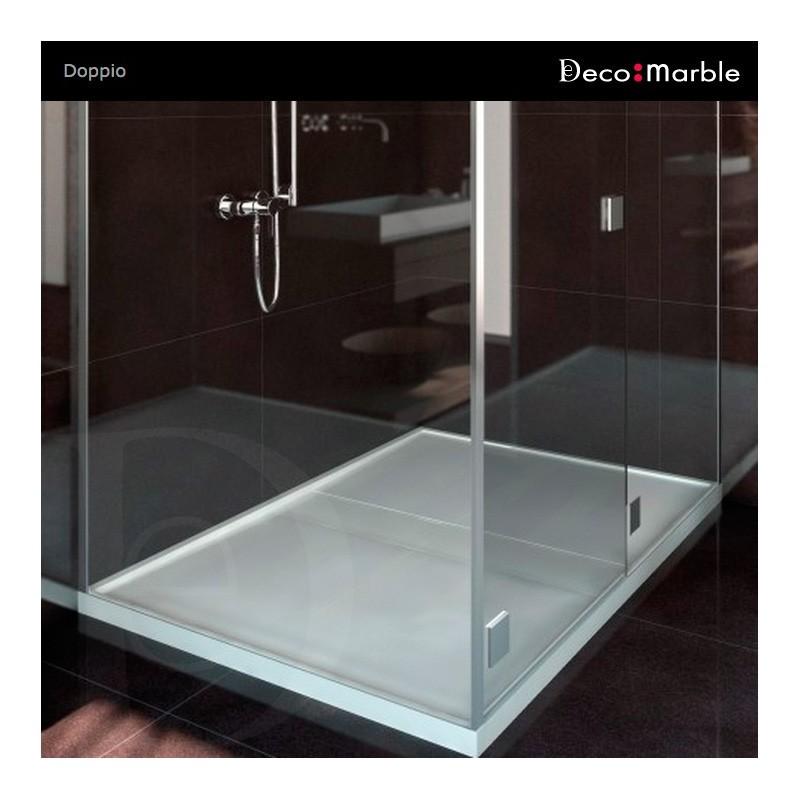 Plato de ducha doppio de silestone for Silestone precio m2