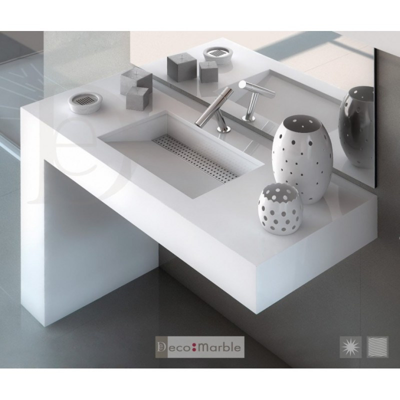 Lavabo silestone equilibrium - Encimeras lavabos bano ...